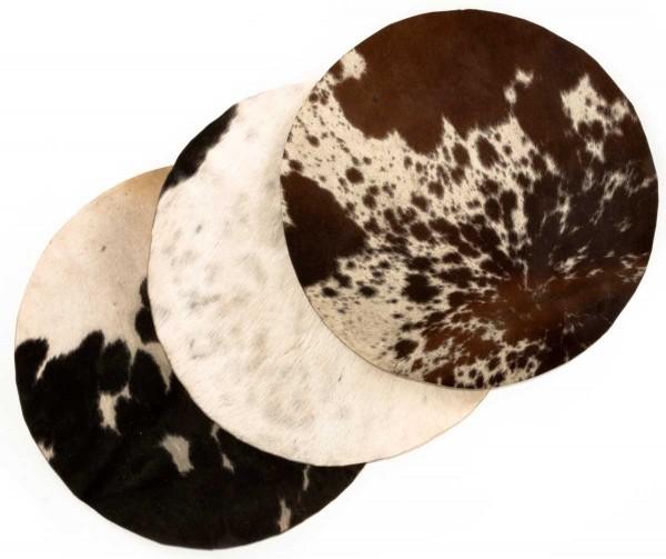 Afroton Kuhfell, unrasiert, nach Größe, ab Ø 50cm