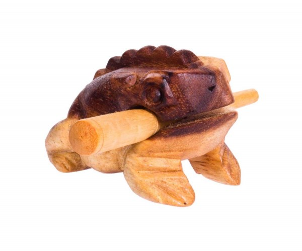 Froggy, 5cm, Holzratsche
