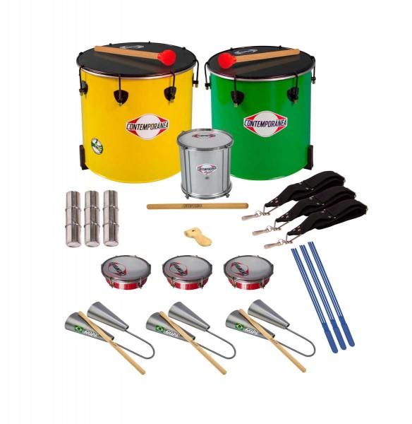 Contemporânea Samba School Set A , 13 instruments