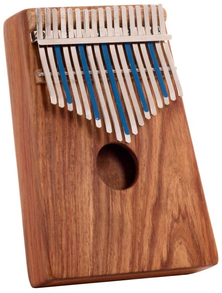 Hugh Tracey Kalimba, Treble, box, 17 tones