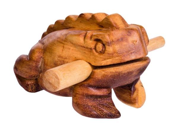 Froggy, M, appr. 11 cm, soft-wood scraper