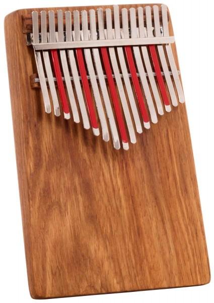 Hugh Tracey Kalimba, Treble Celeste, 17 tones
