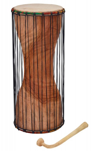 Afroton Dondo, talking drum, Ø 21cm, H 50cm, incl. mallet