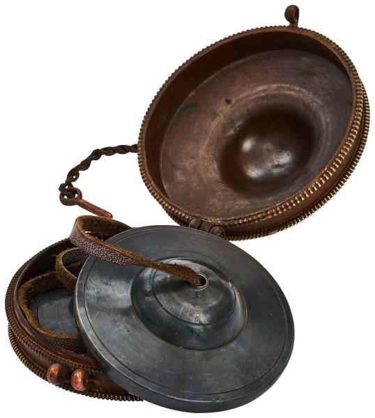 Tingsha - tibet. Zimbel, Ø 7,8cm, pro-antik