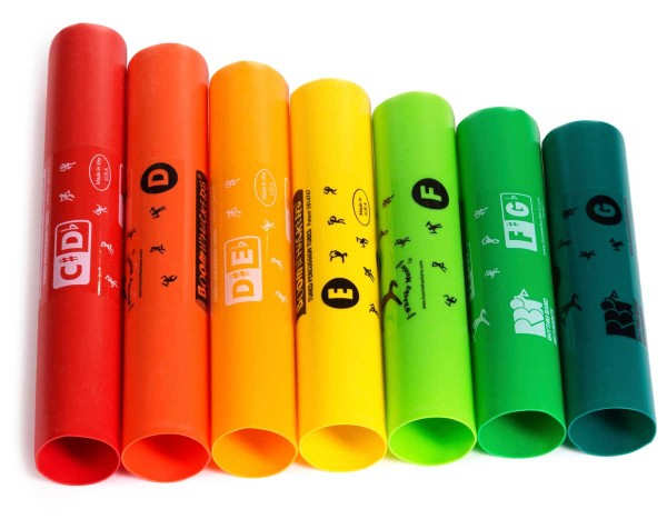 Boomwhackers Boomwhackers, treble, 7 Töne