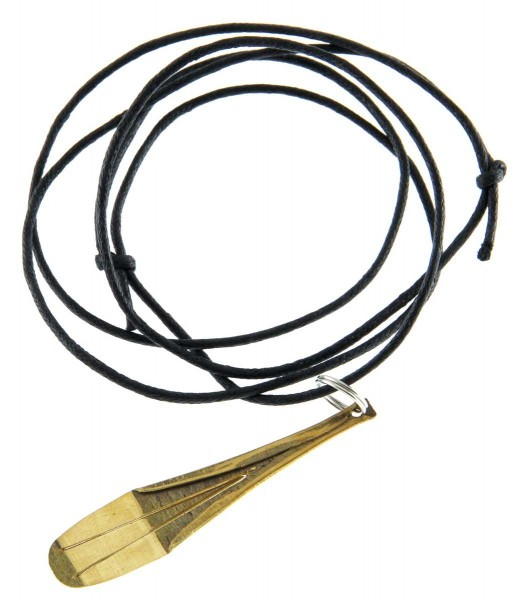 Jew's Harp pendant, on string