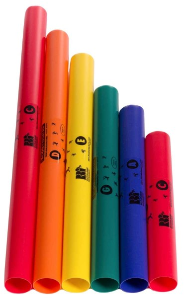 Boomwhackers Boomwhackers, pentatonisch, 6 Töne