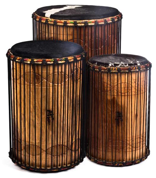 Afroton Bass drum, set of 3, pro-line
