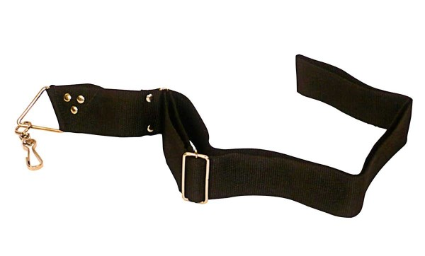 Contemporânea Belt, nylon, 1 hook, black