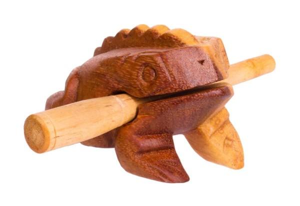 Froggy, 9cm, soft-wood scraper