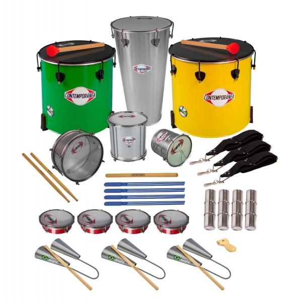 Contemporânea Samba-Schul-Set B, 18 Instrumente