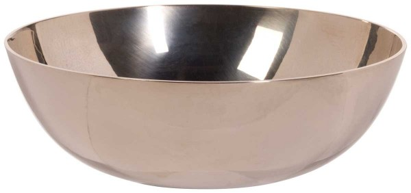 Singing bowl, cast, polished, Ø 17cm