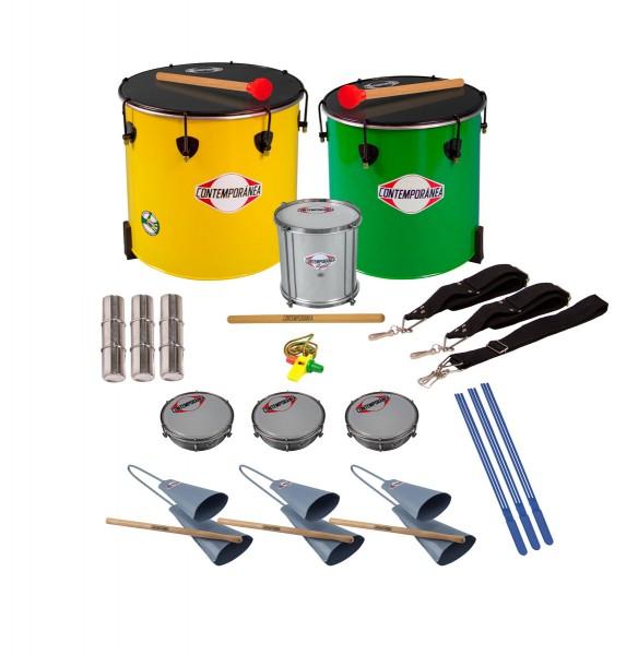 Contemporânea Nesting Pack Samba, 13 instrumente