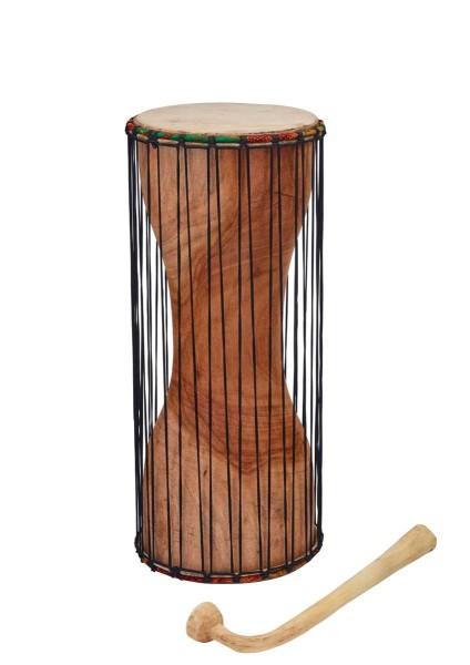 Afroton Dondo, talking drum, Ø 15cm, H 35cm, incl. mallet
