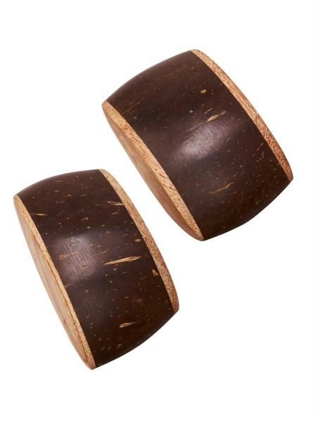 Coconut Shakers,, mini, pair