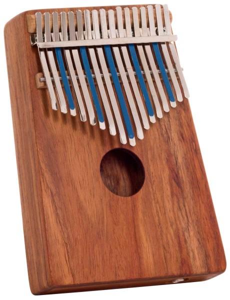 Hugh Tracey Kalimba, Treble, box, with pickup, 17 tones
