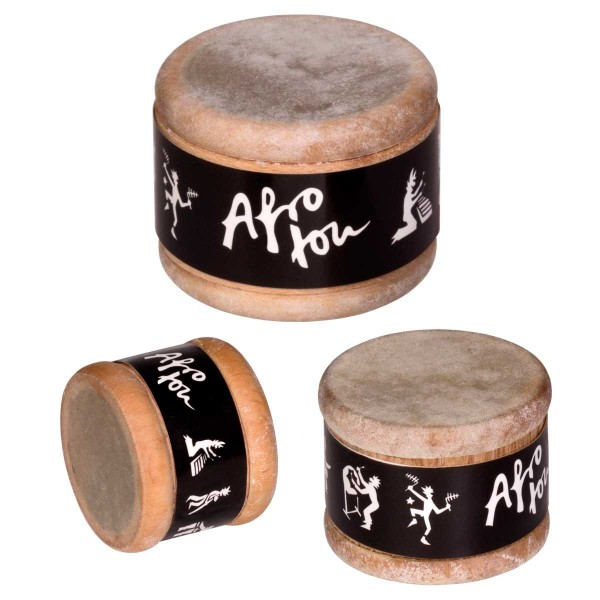 Afroton Talking Shaker, natural, set of 3