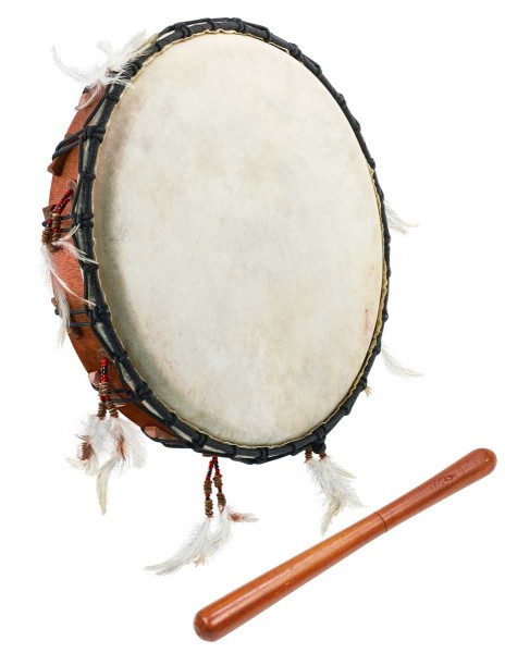 Afroton Ritualdrum, Ø 38cm, with mallet