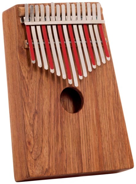 Hugh Tracey Kalimba, Alto, Box, 15 tones