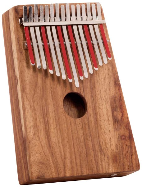 Hugh Tracey Kalimba, Alto, box, with pickup, 15 tones