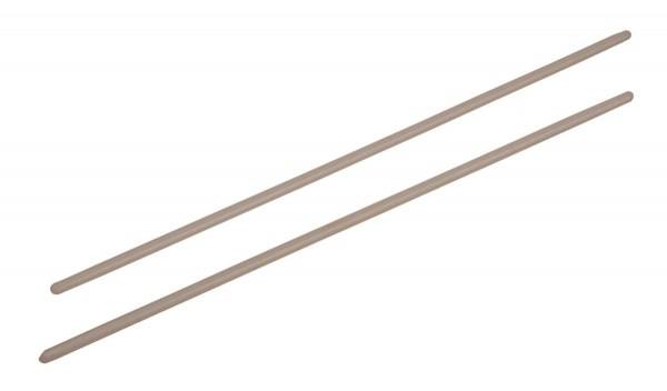 Contemporânea Mallets for repinique, pair, polyamide, without grip, L 40cm