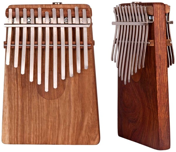 Hugh Tracey Kalimba, double, chromatic, with pickup, 26 tones
