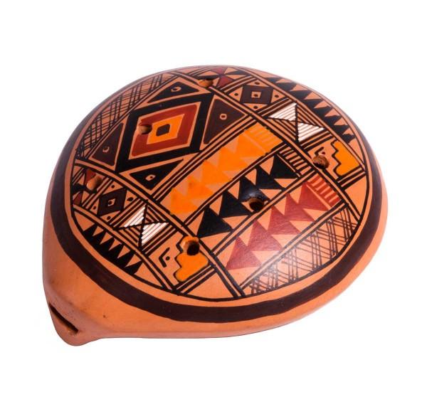 Ocarina, Inka-design, 6 x 7cm