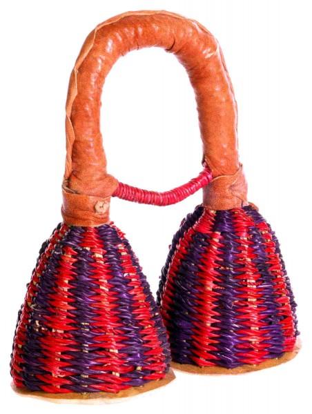 Caxixi, double , gourd bottom