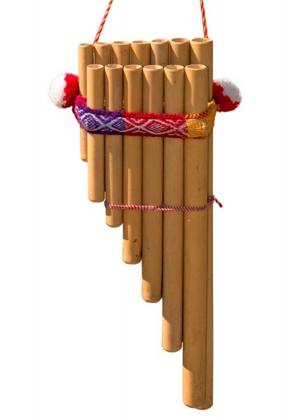 Panflute, two rows