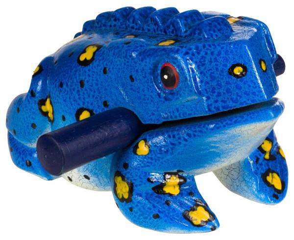 Froggy, bemalt, XL, ca. 19 cm, Holzratsche