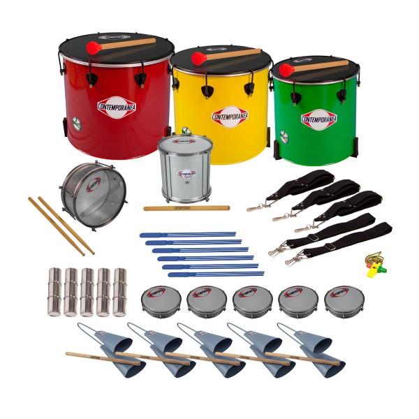 Contemporânea Nesting Pack Samba - 21 instrumente